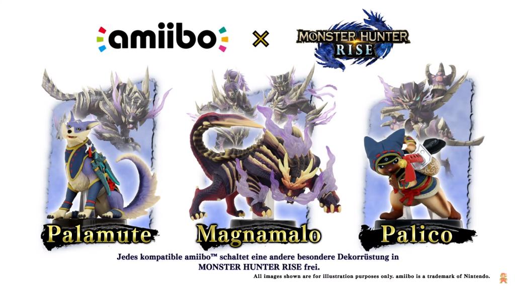 monsterhunter amiibos