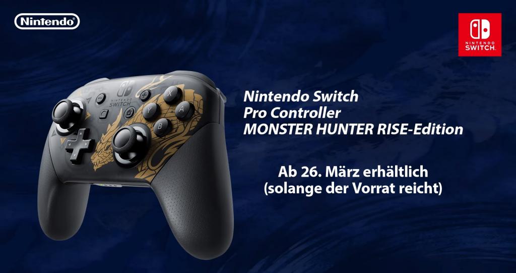 monsterhunter pro controller